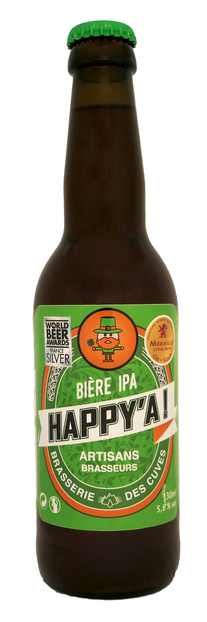 Brasserie des Cuves - Happy'A - IPA
